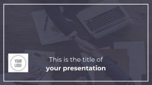 Business Minimal Dark free Presentation Template